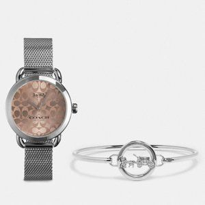 New!! Coach Stainless steel Watch & Bangle
